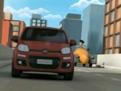 Fiat Panda catch it if you can
