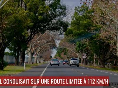 Excès de vitesse : flashé à 209 km/h avec un enfant de 7 ans à bord