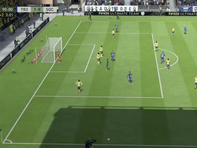 ESTAC Troyes - FC Sochaux sur FIFA 20 : résumé et buts (L2 - 34e journée)