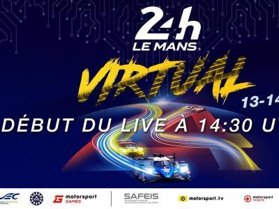 24H du Mans virtuelles : la course en direct