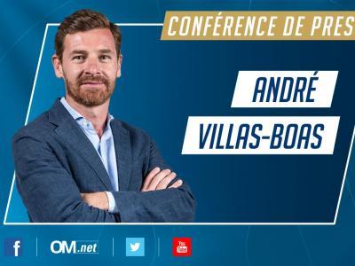Marseille : la conférence de présentation d'André Villas-Boas en direct vidéo