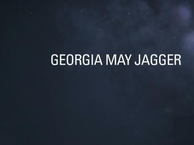 Georgia May Jagger pour Thierry Mugler