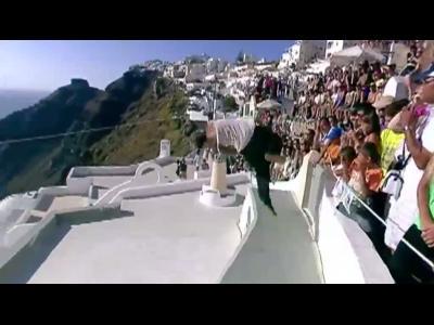 Du sport sur les toits