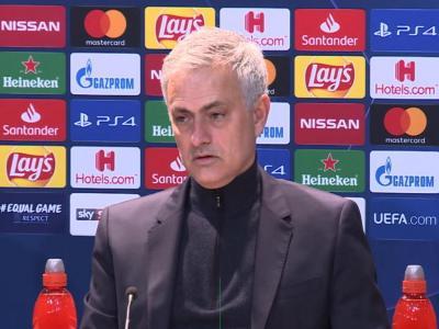 """Groupe B - Mourinho : """"Nous sommes l'une des meilleures équipes du 2e groupe"""""""