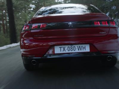 La nouvelle Peugeot 508en vidéo