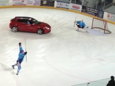 La Giulietta se met au hockey sur glace