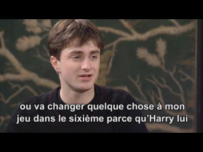 Interview Daniel Radcliff- Harry Potter et l'Ordre du Phenix