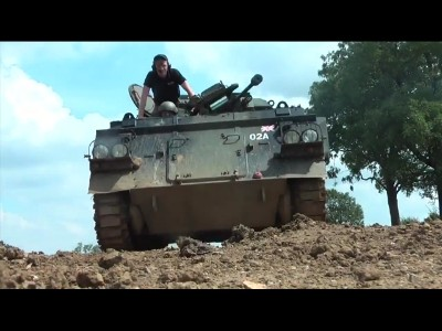Paintball Tank pour les amateurs de sensations fortes