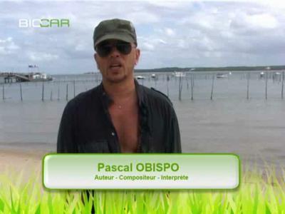 Pascal Obispo en Audi Q7 Clean Diesel