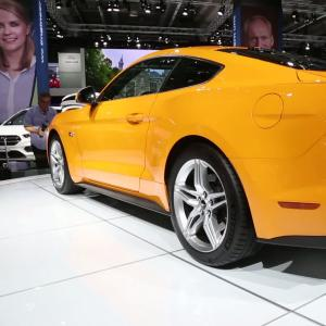 Francfort 2017 : Ford Mustang restylée
