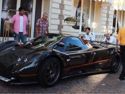 Pagani Zonda F Roadster : 602 ch et six personnes pour la pousser
