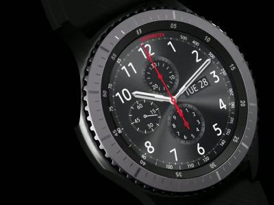 Samsung Gear S3 : vidéo de présentation de la montre connectée