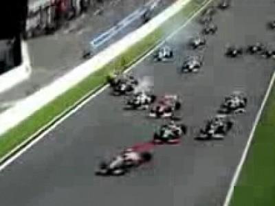 Accident spectaculaire au Grand Prix de Belgique
