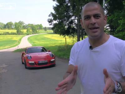 Chris Harris s'amuse en Porsche 911 GT3 RS
