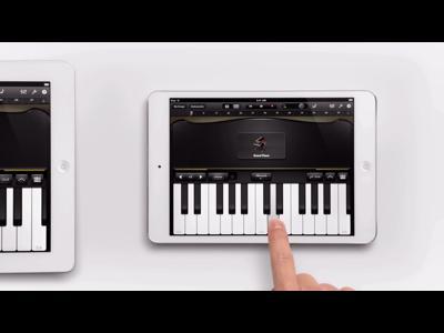 L'iPad Mini, c'est le piano à un doigt