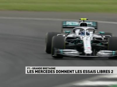 Grand Prix de Grande-Bretagne de F1 : résumé et résultats des essais libres 2