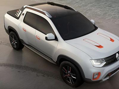 Renault dévoile le Duster Oroch au salon de Sao Paulo