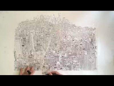 Empire State of Pen, un time lapse qui décoiffe