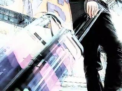 une valise taguée pour Tumi