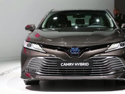 Mondial de l'Auto 2018 : la Toyota Camry en vidéo