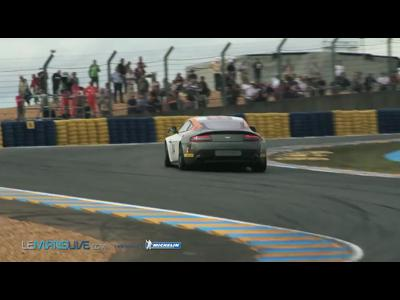 24H du Mans 2012 - Mr Bean at the wheel