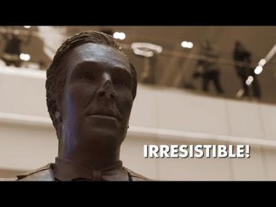 La statue en chocolat
