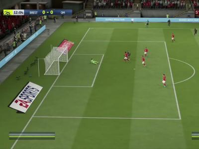 Stade Brestois - OM sur FIFA 20 : résumé et buts (L1 - 31e journée)