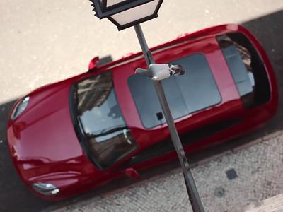 C'est l'histoire d'un Porsche Macan GTS et.. d'un pigeon!