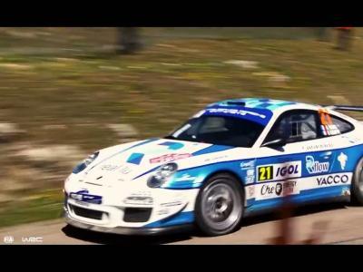 Romain Dumas à fond en Porsche 911 GT3 RS 4.0 au Tour de Corse