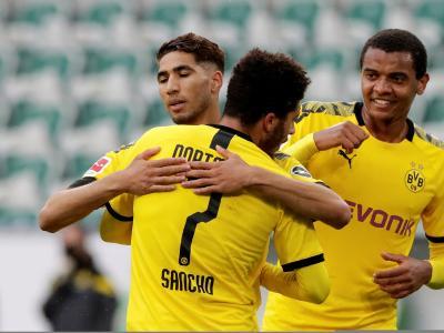 Bundesliga : Service minimum pour Dortmund contre Wolfsburg