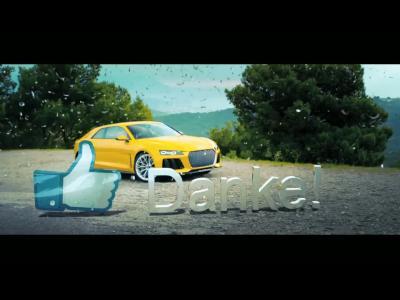 L'Audi Sport Quattro Concept en guise de cadeau