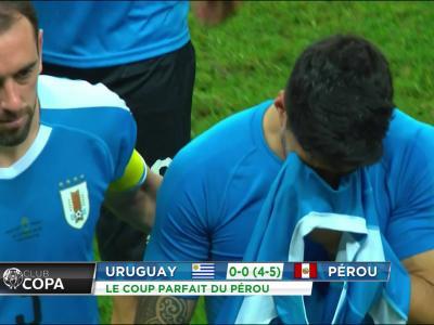 Copa America : les larmes de Luis Suarez
