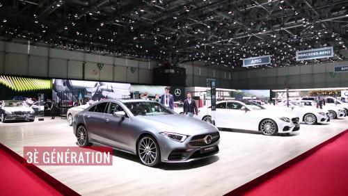 La Mercedes CLS en vidéo depuis le salon de Genève 2018