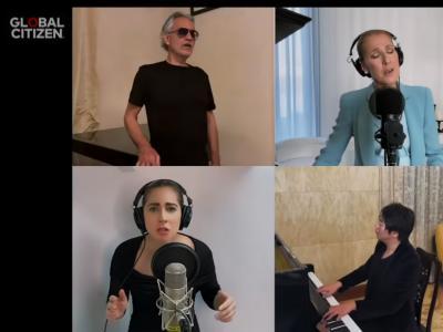 Celine Dion, Andrea Bocelli, Lady Gaga, Lang Lang, John Legend - The Prayer