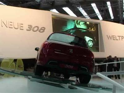 Nouvelle 308 : formellement Peugeot