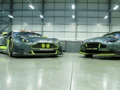 Aston Martin Vantage GT8: au pas de course!