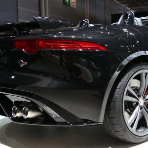 Mondial 2016 : Jaguar F-Type SVR