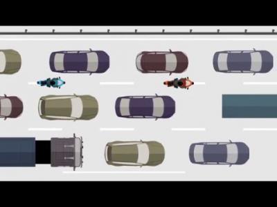 Tout ce qu'il faut savoir sur la circulation inter-files