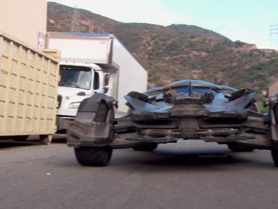 Jusqu'à 330 km/h pour la nouvelle Batmobile!