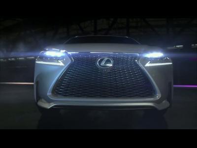Lexus : le SUV compact NX en vidéo