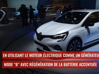 Renault Clio E-Tech : l'hybride au Brussels Motor Show 2020