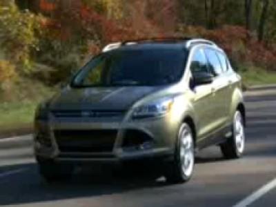 Ford Escape 2013 : un avant goût du prochain Kuga