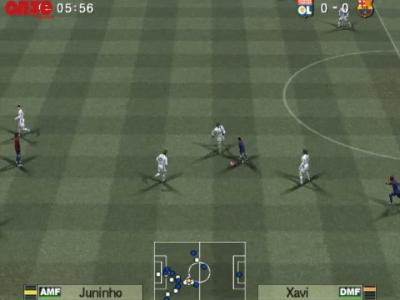 OL - Barça : notre simulation sur PES 6