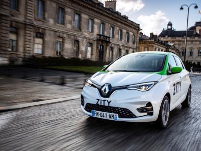 Renault Zity : nouvel acteur de l'autopartage à Paris