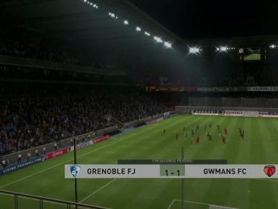 Grenoble Foot 38 - Le Mans FC : notre simulation FIFA 20 (L2 - 32e journée)
