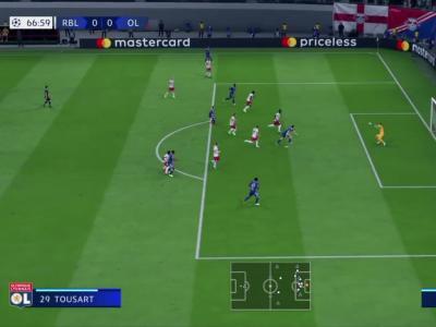 FIFA 20 : on a simulé RB Leipzig - Lyon de Ligue des Champions