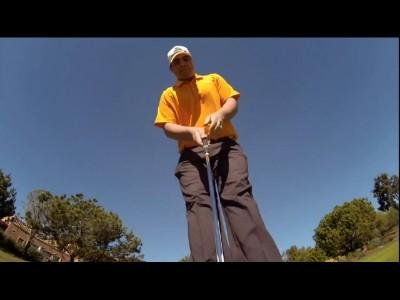 Parcours de golf en GoPro