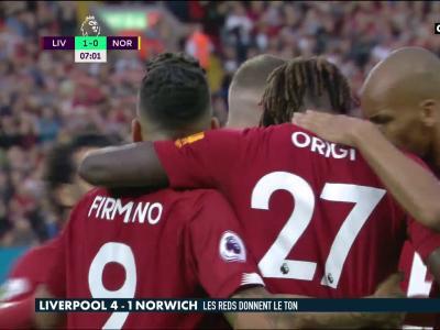 Liverpool - Norwich : les Reds font exploser le promu