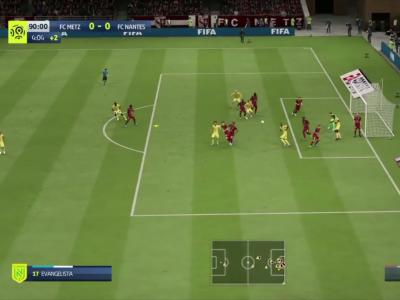 Ligue 1 : on a simulé Metz - Nantes sur FIFA 20