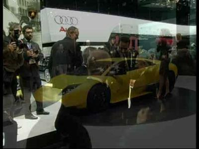 Lamborghini - conférence presse Genève 2009